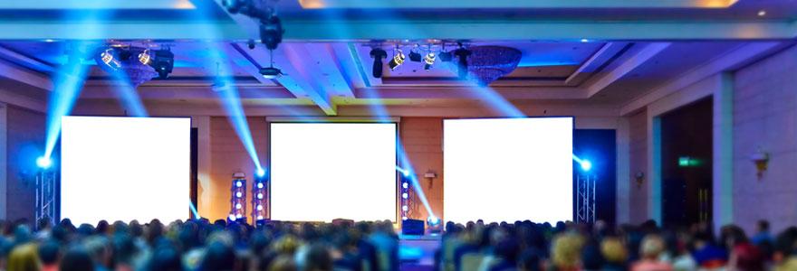 Le social wall et les projections interactives