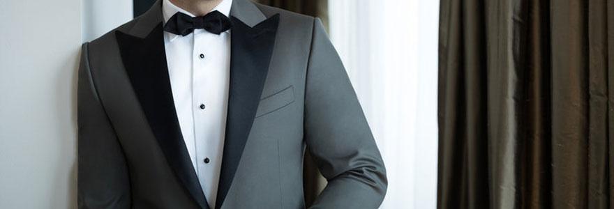 costume gris